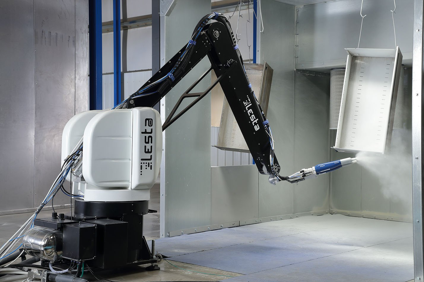 Powder Application with Nordson withOUT FINISHER